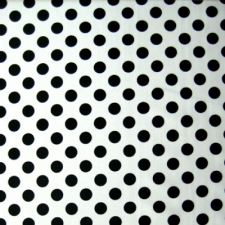 Lycra med prikker White/black