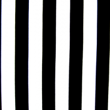 Stribet lycra Black/White Mat