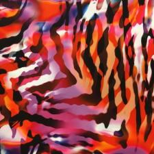 Zebra print Røde/orange farver