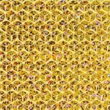 Guld pailetter 8 mm