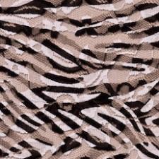 Blonde med zebraprint