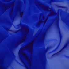 Lux georgette Cobalt