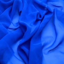 Georgette Ocean blue