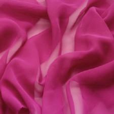 Lux georgette Fuchsia Pink