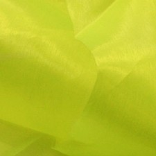 Organza Fluo yellow
