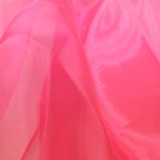 Organza Flamingo pink