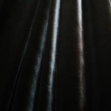 Plain velvet Black