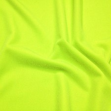 Plain velvet Fluo yellow
