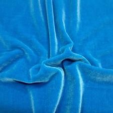 Plain velvet Turquoise