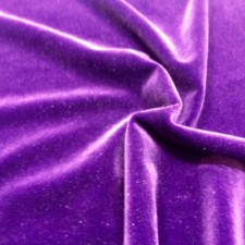 Plain velvet Purple