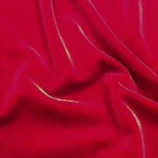 Plain velvet Red