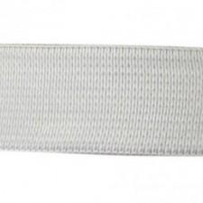 Elastik 2,5 cm White