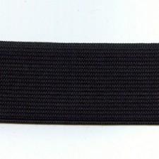 Kraftig elastik 1 cm Black