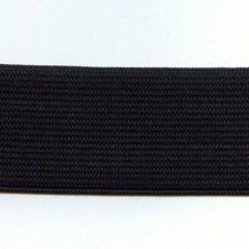 Kraftig elastik 3 cm Black