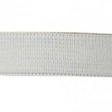 Kraftig elastik 1,5 cm White