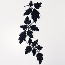 Acorn Leaf Black