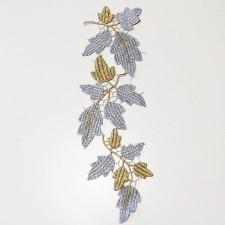 Acorn Leaf Silver/gold