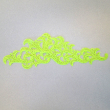 Leaf Fluo yellow