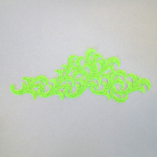Leaf Fluo green
