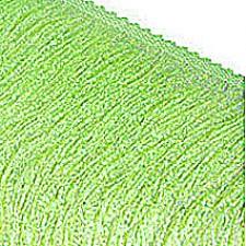 Fryns 30 cm Fluo green glitter. ELASTISK