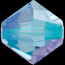 Xilion bead 6 mm. Light Sapphire Shimmer