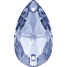 Drop 28x17 mm Light Sapphire