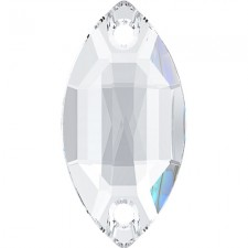 Navette 18x9 mm Crystal - Stellux