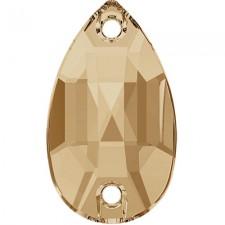 Drop 12x7 mm Crystal Golden Honey - Stellux