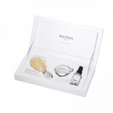 Balmain Hair - Luxurious Silver Spa Brush Mini & Silver Mirror