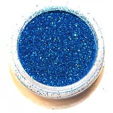 Glitter. Turquoise Hologram.