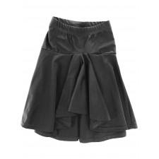 Nederdel med stramt bærestykke - Black
