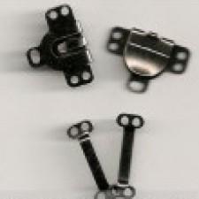 Buksehægter 8 mm Sølv