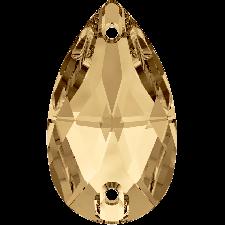 Drop 12x7 mm Golden Shadow