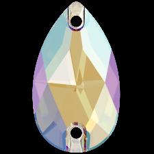 Drop 18x10,5 mm Black Diamond Shimmer