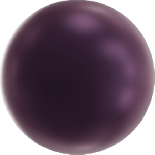Crystal Pearls 10 mm Elderberry Pearl