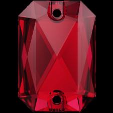 Emerald Cut 20 x 14 mm. Scarlet fra Swarovski