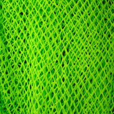 Fish mesh large Fluo green