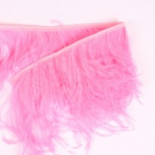 Fjerfryns Fluo pink