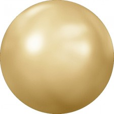 Crystal flat pearl. Golden Shadow ss34