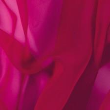 Lux georgette Cherry Red