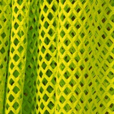 Grov Mesh Fluo yellow