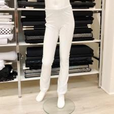 Glimmer bukser str. 10 år, Hvid/parl