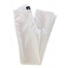Glimmer bukser str. 10 år, Hvid pearl