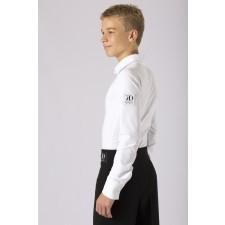 Herreskjorte/body  i hvid ØKO lycra
