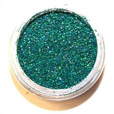 Glitter. Jade Hologram.