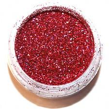 Glitter. Fuchsia Hologram.