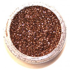 Glitter. Copper.