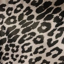 Leopard Print Mørk grå/sølv grå