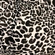 Leopard Print hvid/grå/sort