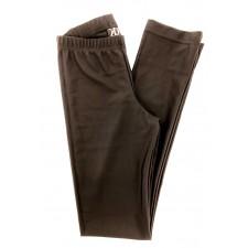 Sorte lycrabukser med lige ben til Piger